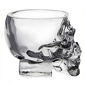 Mini Crystal Skull Head Cup Vodka Shot Glass Whiskey Drink Ware for Home Bar 815648