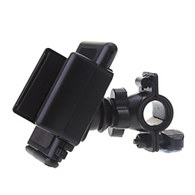 Phone Holder Stand Mount Bike / Motorcycle / Outdoor Handlebar 360° Rotation Plastic for Mobile Phone 905476