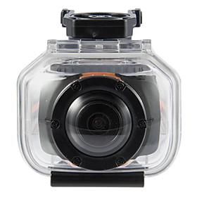 1,5 tommers Full HD 1080p Waterproof Action videokamera med GPS TFT Bike Bicycle