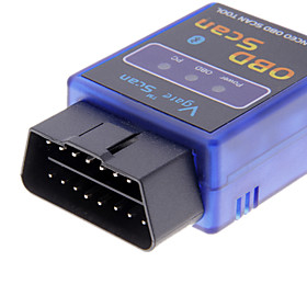 Mini ELM327 V1.5 Bluetooth ELM 327 OBDII OBD2 Protocols Auto Diagnostic Tool