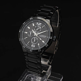 Men'S Fashion Pc Movment Steel Band Wrist Watch