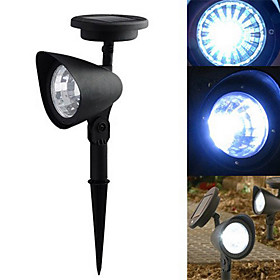 Cool White LED Solar LED Spot Light Landschaft Licht 860612
