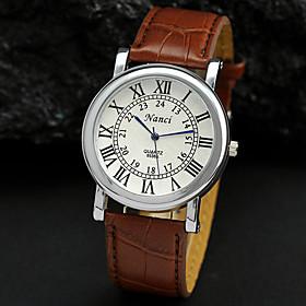 Men's Watch Dress Watch Roman Numerals Dial Wrist Watch Cool Watch Unique Watch Fashion Watch