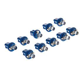 10pcs Car Light Bulbs 10-20 lm 1 LED Interior Lights For universal