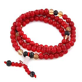 (1 Pc) Multicolor Ágata Enrole Mulheres 7Cm Vintage'S (vermelho, azul e muito mais) 864464