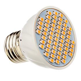 E27 60x3528SMD 3000K Warm White Light LED-Spot-Lampe (12V) 763478