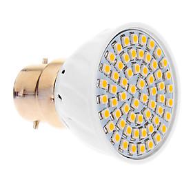 5W B22 LED Spotlight 60 SMD 3528 420 lm Warm White AC 220-240 V 912772