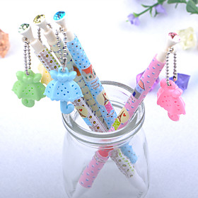 Pen Pen Ballpoint Pens Pen, Metal Blue Ink Colors For School Supplies Office Supplies Pack of