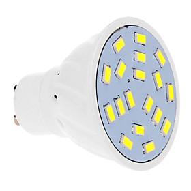 7W GU10 LED Spotlight 18 SMD 5630 570 lm Cool White AC 220-240 V 912787