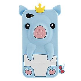 Little Pig Silicone Protective Case for iPhone 4/4S(Assorted Colors)