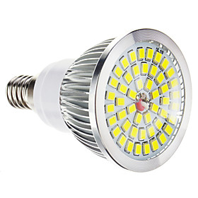 Dimmbare E14 1,5 7,5 W 48x2835SMD 100-650LM 6000-7000K Cool White Light LED-Spot-Lampe (220-240V) 1050565