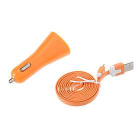 Professional Dual-USB Ports Car Charger for Samsung Cell Phones and Other Brands 1099757