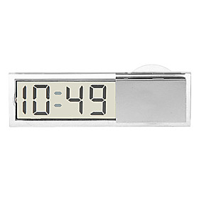 In-Car Saugnapf Digital Clock 1087848