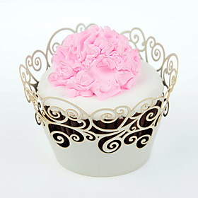 12 Eco-Friendly For Cake / For Cupcake Other Cupcake Wrapper 1153884
