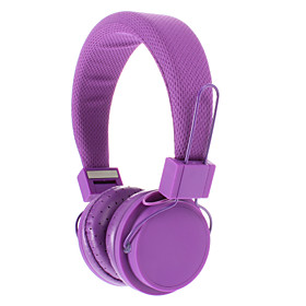 EX09I 3.5mm Stereo High Quality On-ear Headphone for PC/MP3/MP4/Telephone(Purple) 1135120