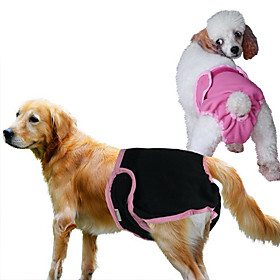 Cotton Female Dog Pant for Dogs (Assorted Colors, XS-XL)