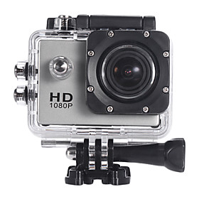HD1080P Mini-F23V Aktion Camcorder (Silber)