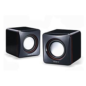 Musik-M-01A High Quality Stereo USB 2.0Multimedia Lautsprecher (Schwarz) 1257230