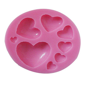 1 Eco-Friendly For Cake / For Cupcake / For Chocolate Silicone Baking Mold 1211330