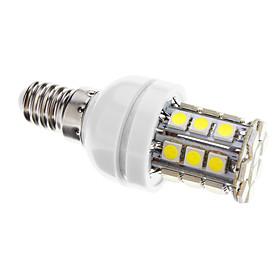 Dimmbare E14 4W 30xSMD 5050 400LM 6000-6500K Cool White Light LED Mais-Birnen (AC 220-240V) 1281023