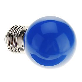 0.5W 50 lm E26/E27 LED Globe Bulbs G45 7 leds Dip LED Decorative Blue AC 220-240V