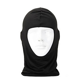 Balaclava Pollution Protection Mask Skiing Camping / Hiking Hunting Bike / Cycling Windproof Protective Solid Colored Lycra Sky Blue Red Pink / Mountain Bike M