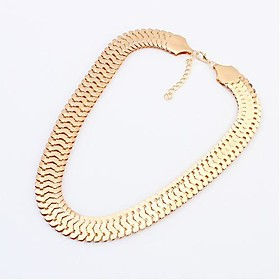 Women's Alloy Statement Necklace - Alloy Personalized European Necklace For 1401095