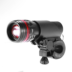 1-LED White Light 3-Mode Flashlight with Bicycle Mount Holder Clip Clamp(3xAAA,150LM)