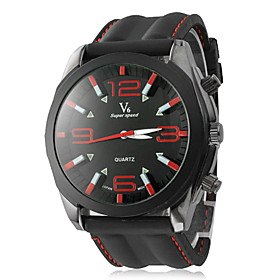 Men's Watch Dress Watch Fashion Silicone Strap
