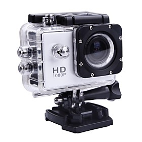 Mini Action Camera Diving Full HD DVR DV 30M Waterproof Extreme Sports Helmet 19201080P Camcorder