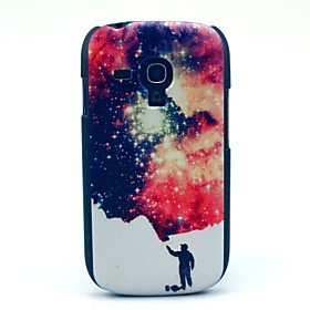 Man and Space Star Pattern Hard Case for Samsung Galaxy S3 Mini I8190 4611