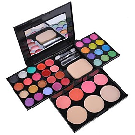 EyeShadow 39 Colors Makeup Palette Kit Foundation Powder Blusher Cosmetic Lipstick  Tools SV000822 4611