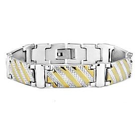 Pulseiras em Correntes e Ligações bijuterias Aço Inoxidável Jóias Para Diário Casual 1500518