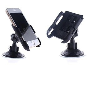 Convenient Car Mounted Suction Cup 360' Rotating ABS Holder for iPhone 1533079