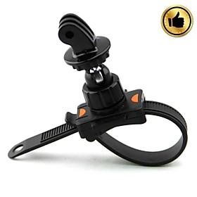 HighPro Bicycle Motorcycle Handlebar Zip-Tie Strap Mount for GoPro Hero / Hero2 / Hero3 - Black