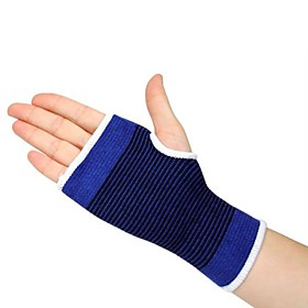 Hand  Wrist Brace Sports Support Adjustable Breathable Thermal / Warm Camping / Hiking Running Synthetic Textile Fibres All Seasons