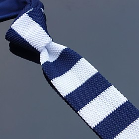 Men Party/Casual Neck Tie , Knitwear 1483827
