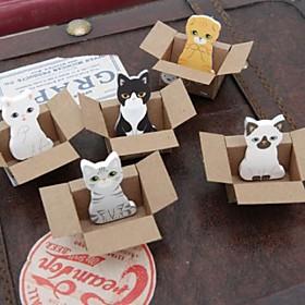 Small Carton Animal Toy Self-stick Notes 1552796