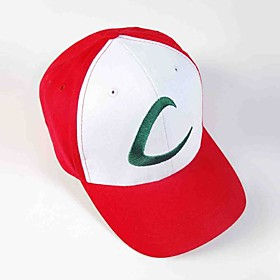 Hat/Cap Inspired by Pocket Little Monster Ash Ketchum Anime Cosplay Accessories Cap Hat Red Male Female 1511897