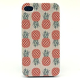 Pineapple Pattern Hard Case for iPhone 4/4S 1641415