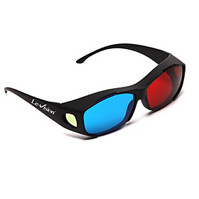 Le-Vision General Red Blue Myopia 3D Glasses for Computer TV Mobile 1672484