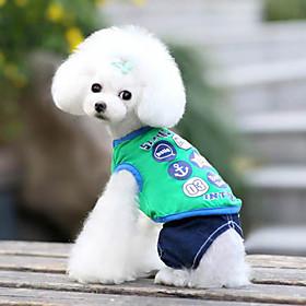 Pet Cartoon Printed Vest für Haustiere Hunde (verschiedene Farben, Größen) 1418719
