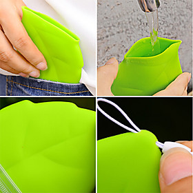 Portable Leaf Style Pocket Cup 624013