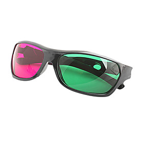 MK General High Definition Sports Green Red 3D Glasses for Computer and TV 1678995