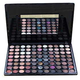 Professional 88 Color Marble Natural Makeup Eye Shadow Palette with Mirror/Brush 1652808