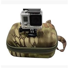 Gopro Hero3 3 2 Sports Camera Bag Camouflage Bag