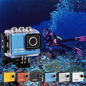 New 5.0MP Full HD 1080P waterproof 50M Sport Camera DVR Camcorder w/Wifi H264 HDMIIR Remote