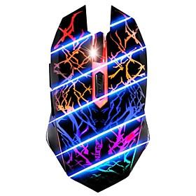 7 Couleur respiration lumiere 3200DPI 6 Bouton optique USB filaire Gaming Mouse pour PC Gamer