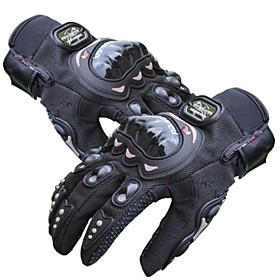 PRO-BIKER Sports Gloves Bike Gloves / Cycling Gloves Keep Warm / Quick Dry / Wearable Full finger Gloves Silicone / Cotton Fibre / Lycra 1656639