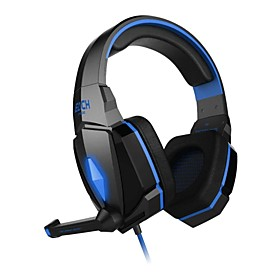 Gaming headphone G4000 Stereo Noise Cancelling Gaming Headset Mic HiFi Driver LED Light for PC 4611